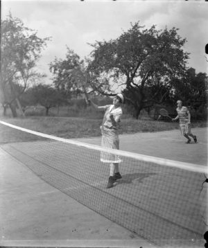 Playing Tennis at Milwaukee County Institutions, 1926