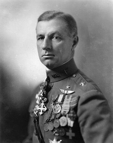 Portrait of Brigadier General Billy Mitchell
