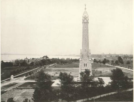 <table class=&quot;lightbox&quot;><tr><td colspan=2 class=&quot;lightbox-title&quot;>North Point Water Tower</td></tr><tr><td colspan=2 class=&quot;lightbox-caption&quot;>Image featuring the North Point Water Tower as seen from St. Mary's Hospital, circa 1885.</td></tr><tr><td colspan=2 class=&quot;lightbox-spacer&quot;></td></tr><tr class=&quot;lightbox-detail&quot;><td class=&quot;cell-title&quot;>Source: </td><td class=&quot;cell-value&quot;>From Milwaukee Illustrated, Special Collections, University of Wisconsin-Milwaukee Libraries. <br /><a href=&quot;http://collections.lib.uwm.edu/digital/collection/mkenh/id/217/rec/3&quot; target=&quot;_blank&quot;>University of Wisconsin-Milwaukee Libraries</a></td></tr><tr class=&quot;filler-row&quot;><td colspan=2>&nbsp;</td></tr></table>