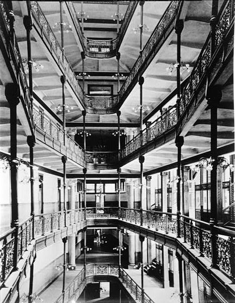 <table class=&quot;lightbox&quot;><tr><td colspan=2 class=&quot;lightbox-title&quot;>City Hall Interior</td></tr><tr><td colspan=2 class=&quot;lightbox-caption&quot;>An interior view of City Hall showing the iron grillwork of the atrium.</td></tr><tr><td colspan=2 class=&quot;lightbox-spacer&quot;></td></tr><tr class=&quot;lightbox-detail&quot;><td class=&quot;cell-title&quot;>Source: </td><td class=&quot;cell-value&quot;>From the Library of Congress Historic American Buildings Survey Collection. <br /><a href=&quot;https://www.loc.gov/resource/hhh.wi0021.photos/?sp=14&quot; target=&quot;_blank&quot;>Library of Congress</a></td></tr><tr class=&quot;filler-row&quot;><td colspan=2>&nbsp;</td></tr></table>