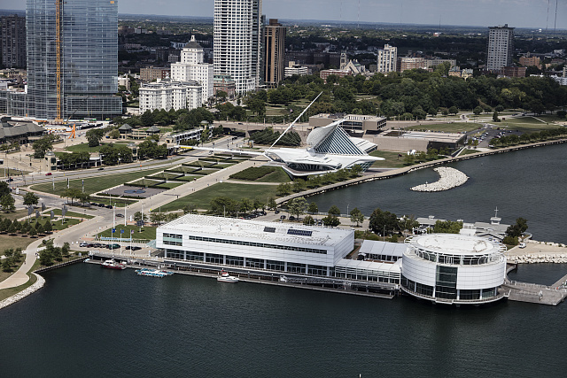 <table class=&quot;lightbox&quot;><tr><td colspan=2 class=&quot;lightbox-title&quot;>Discovery World</td></tr><tr><td colspan=2 class=&quot;lightbox-caption&quot;>Photograph featuring an aerial view of Milwaukee with Discovery World in the foreground. </td></tr><tr><td colspan=2 class=&quot;lightbox-spacer&quot;></td></tr><tr class=&quot;lightbox-detail&quot;><td class=&quot;cell-title&quot;>Source: </td><td class=&quot;cell-value&quot;>From the Library of Congress Carol M. Highsmith Archive<br /><a href=&quot;https://www.loc.gov/item/2016630822/&quot; target=&quot;_blank&quot;>Library of Congress</a></td></tr><tr class=&quot;filler-row&quot;><td colspan=2>&nbsp;</td></tr></table>