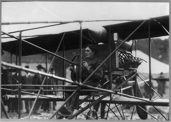 Aviator Charles K. Hamilton landed the first airplane in Milwaukee at the Wisconsin State Fair in 1906.