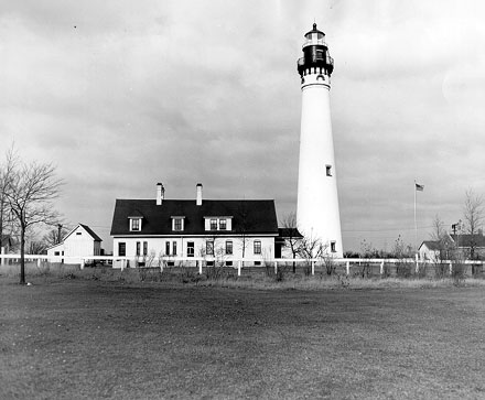 The Wind Point Lighthouse, north of Racine, remains active due to the combined efforts of the Village of Wind Point, the US Coast Guard, and a local nonprofit organization.