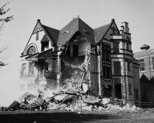 The Elizabeth Plankinton Mansion was demolished in October, 1980.