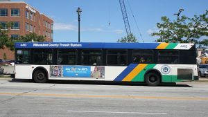 Milwaukee County Transit System busses are the heart of the 21st century Mass Transit system in Milwaukee.