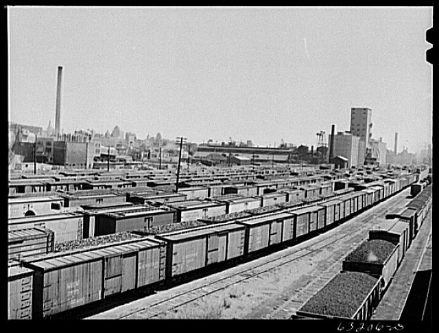 <table class=&quot;lightbox&quot;><tr><td colspan=2 class=&quot;lightbox-title&quot;>Milwaukee Rail Yards</td></tr><tr><td colspan=2 class=&quot;lightbox-caption&quot;>This 1941 photograph shows rail yards in Milwaukee.</td></tr><tr><td colspan=2 class=&quot;lightbox-spacer&quot;></td></tr><tr class=&quot;lightbox-detail&quot;><td class=&quot;cell-title&quot;>Source: </td><td class=&quot;cell-value&quot;>From the Library of Congress Farm Security Administration - Office of War Information Photograph Collection.<br /><a href=&quot;https://www.loc.gov/item/2017812706/&quot; target=&quot;_blank&quot;>Library of Congress</a></td></tr><tr class=&quot;filler-row&quot;><td colspan=2>&nbsp;</td></tr></table>