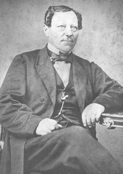 Portrait of Gustav Unonius, Episcopal minister and leader of the 19th century Swedish settlement once located in present-day Waukesha County.