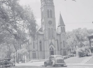 St. Rose Catholic Church served many of Merrill Park's residents after its 1888 construction.