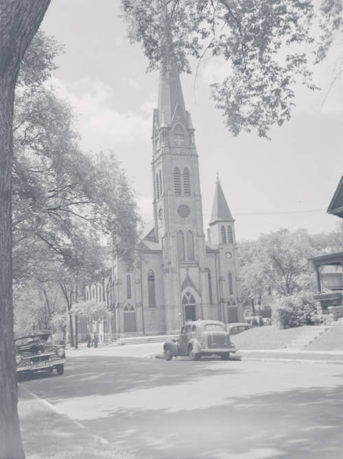 <table class=&quot;lightbox&quot;><tr><td colspan=2 class=&quot;lightbox-title&quot;>St. Rose of Lima</td></tr><tr><td colspan=2 class=&quot;lightbox-caption&quot;> St. Rose Catholic Church served many of Merrill Park's residents after its 1888 construction.</td></tr><tr><td colspan=2 class=&quot;lightbox-spacer&quot;></td></tr><tr class=&quot;lightbox-detail&quot;><td class=&quot;cell-title&quot;>Source: </td><td class=&quot;cell-value&quot;>From the Milwaukee Neighborhoods: Photos and Maps 1885-1992 Collection, Archives. University of Wisconsin-Milwaukee Libraries.<br /><a href=&quot;http://collections.lib.uwm.edu/digital/collection/mkenh/id/686/rec/17&quot; target=&quot;_blank&quot;>University of Wisconsin-Milwaukee Libraries</a></td></tr><tr class=&quot;filler-row&quot;><td colspan=2>&nbsp;</td></tr></table>