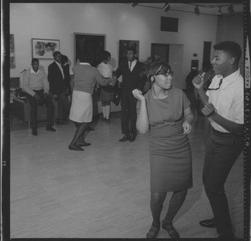 <table class=&quot;lightbox&quot;><tr><td colspan=2 class=&quot;lightbox-title&quot;>Dance for Upward Bound Students</td></tr><tr><td colspan=2 class=&quot;lightbox-caption&quot;>University of Wisconsin-Milwaukee students dance at a recreational event in 1966. </td></tr><tr><td colspan=2 class=&quot;lightbox-spacer&quot;></td></tr><tr class=&quot;lightbox-detail&quot;><td class=&quot;cell-title&quot;>Source: </td><td class=&quot;cell-value&quot;>From the UWM Photo Collection, Archives. University of Wisconsin-Milwaukee Libraries. <br /><a href=&quot;http://collections.lib.uwm.edu/digital/collection/uwmphoto/id/786/rec/20&quot; target=&quot;_blank&quot;>University of Wisconsin-Milwaukee Libraries</a></td></tr><tr class=&quot;filler-row&quot;><td colspan=2>&nbsp;</td></tr></table>