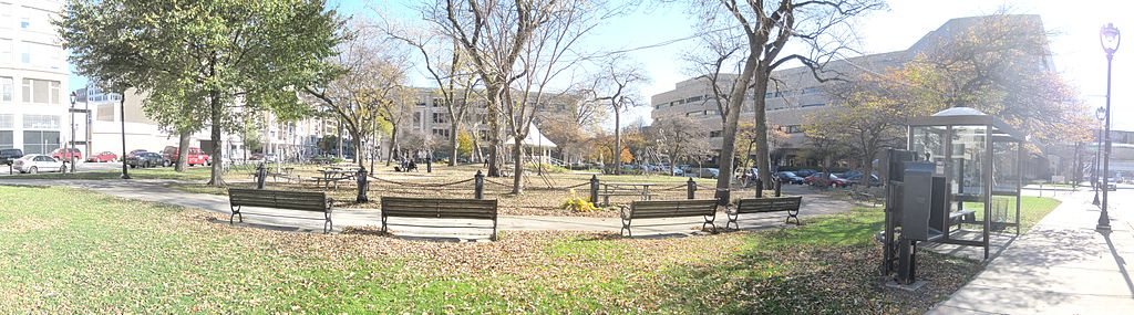 <table class=&quot;lightbox&quot;><tr><td colspan=2 class=&quot;lightbox-title&quot;>Zeidler Union Square Park</td></tr><tr><td colspan=2 class=&quot;lightbox-caption&quot;>Originally known as Union Square in the 1830s and renamed to honor mayor Carl Zeidler in the 1960s, this piece of natural landscape in the heart of downtown was Milwaukee's first park. </td></tr><tr><td colspan=2 class=&quot;lightbox-spacer&quot;></td></tr><tr class=&quot;lightbox-detail&quot;><td class=&quot;cell-title&quot;>Source: </td><td class=&quot;cell-value&quot;>From the Wikimedia Commons. Photograph by username Buster8079. CC BY-SA 3.0.<br /><a href=&quot;https://commons.wikimedia.org/wiki/File:Zeidler_park_-_milwaukee.jpg&quot; target=&quot;_blank&quot;>Wikimedia Commons</a></td></tr><tr class=&quot;filler-row&quot;><td colspan=2>&nbsp;</td></tr></table>