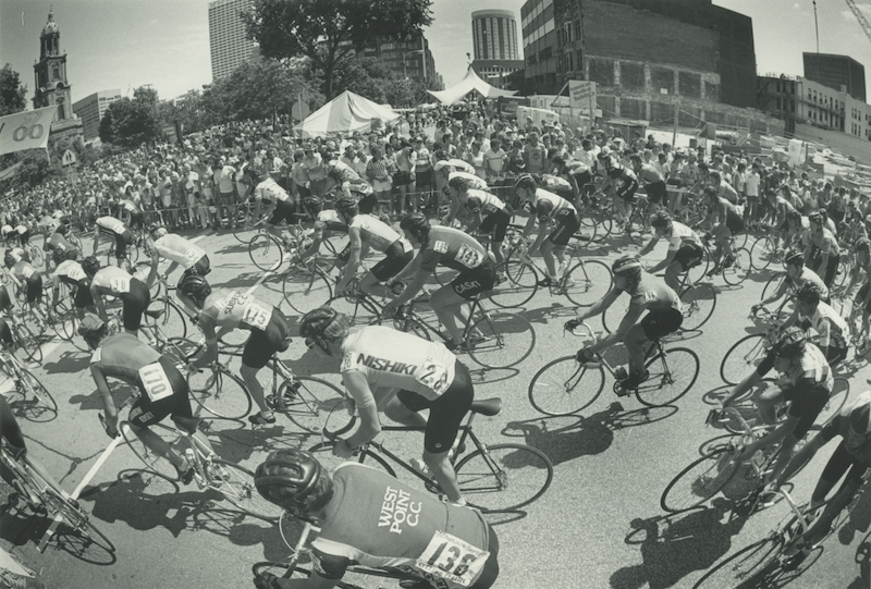 <table class=&quot;lightbox&quot;><tr><td colspan=2 class=&quot;lightbox-title&quot;>Bastille Days Bike Race</td></tr><tr><td colspan=2 class=&quot;lightbox-caption&quot;>A large crowd watches as people participate in the Bastille Days bike race in 1983.</td></tr><tr><td colspan=2 class=&quot;lightbox-spacer&quot;></td></tr><tr class=&quot;lightbox-detail&quot;><td class=&quot;cell-title&quot;>Source: </td><td class=&quot;cell-value&quot;>From the Historic Photo Collection of the Milwaukee Public Library.<br /><a href=&quot;http://content.mpl.org/cdm/singleitem/collection/HstoricPho/id/5661/rec/2&quot; target=&quot;_blank&quot;>Milwaukee Public Library</a></td></tr><tr class=&quot;filler-row&quot;><td colspan=2>&nbsp;</td></tr></table>