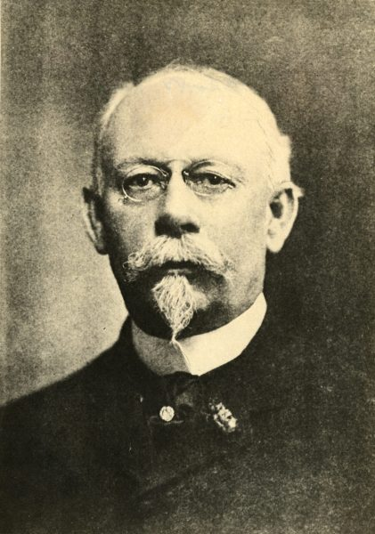 Portrait of George W. Peck. Peck served as Milwaukee's mayor in 1890 before being elected as Wisconsin's governor, a position he held for four years.