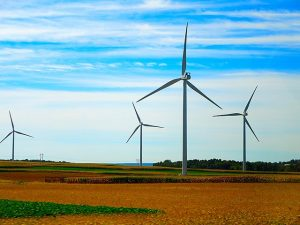 The Glacier Hills Wind Park in Columbia County, Wisconsin, has been generating power for We Energies since 2011.