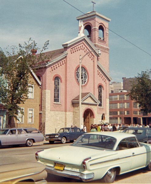 Prior to its razing in 1967, the Blessed Virgin of Pompeii was an institution central to Milwaukee's Italian community and a popular landmark because of its colorful exterior.