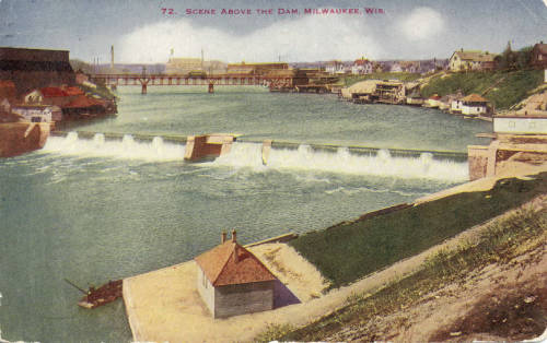 <table class=&quot;lightbox&quot;><tr><td colspan=2 class=&quot;lightbox-title&quot;>North Avenue Dam</td></tr><tr><td colspan=2 class=&quot;lightbox-caption&quot;>Postcard published in 1916 featuring a view of the North Avenue Dam on the Milwaukee River.</td></tr><tr><td colspan=2 class=&quot;lightbox-spacer&quot;></td></tr><tr class=&quot;lightbox-detail&quot;><td class=&quot;cell-title&quot;>Source: </td><td class=&quot;cell-value&quot;>Greetings from Milwaukee: Selections from the Thomas and Jean Ross Bliffert Postcard Collection, Archives. University of Wisconsin-Milwaukee Libraries. <br /><a href=&quot;https://collections.lib.uwm.edu/digital/collection/gfmmke/id/195/rec/5&quot; target=&quot;_blank&quot;>University of Wisconsin-Milwaukee Libraries</a></td></tr><tr class=&quot;filler-row&quot;><td colspan=2>&nbsp;</td></tr></table>