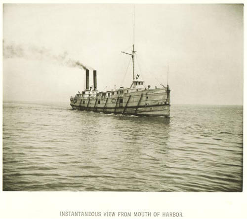<table class=&quot;lightbox&quot;><tr><td colspan=2 class=&quot;lightbox-title&quot;>Steamboat in Milwaukee Harbor</td></tr><tr><td colspan=2 class=&quot;lightbox-caption&quot;>Photograph of a Union Steamboat Company vessel in Milwaukee Harbor, circa 1885. </td></tr><tr><td colspan=2 class=&quot;lightbox-spacer&quot;></td></tr><tr class=&quot;lightbox-detail&quot;><td class=&quot;cell-title&quot;>Source: </td><td class=&quot;cell-value&quot;>From Milwaukee Illustrated, Special Collections, University of Wisconsin-Milwaukee Libraries. <br /><a href=&quot;https://collections.lib.uwm.edu/digital/collection/mkenh/id/299/rec/1&quot; target=&quot;_blank&quot;>University of Wisconsin-Milwaukee Libraries</a></td></tr><tr class=&quot;filler-row&quot;><td colspan=2>&nbsp;</td></tr></table>