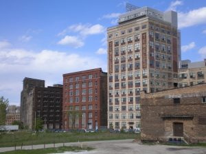Some old industrial buildings in Walker's Point are being repurposed in the 21st century as loft apartments.