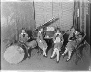 Amateur music groups, such as the quartet pictured here in 1924, were also popular in Milwaukee.