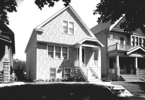 1941 photograph of a renovated Polish flat that had been originally built on Milwaukee's south side in 1923.