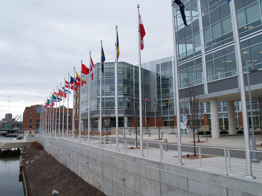 Due to continued growth and expansion, ManpowerGroup opened their new facility along the Milwaukee River in 2007.