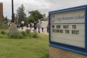 One of the eight public Montessori schools in the metro Milwaukee area, Craig Montessori School is located on W. Congress Street.