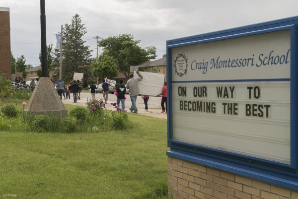 One of the eight public Montessori schools in the metro Milwaukee area, Craig Montessori School is located on W. Congress Street.