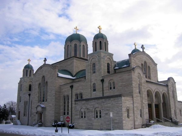 Completed in 1958, St. Sava remains a centerpiece of Milwaukee's Serbian Orthodox community.