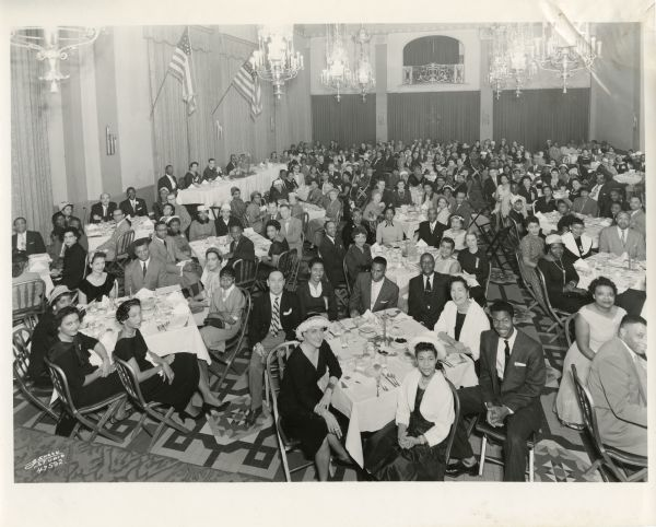 <table class=&quot;lightbox&quot;><tr><td colspan=2 class=&quot;lightbox-title&quot;>NAACP Annual Dinner</td></tr><tr><td colspan=2 class=&quot;lightbox-caption&quot;>Members of the NAACP's Milwaukee branch gather for their annual dinner, as seen here in 1958.</td></tr><tr><td colspan=2 class=&quot;lightbox-spacer&quot;></td></tr><tr class=&quot;lightbox-detail&quot;><td class=&quot;cell-title&quot;>Source: </td><td class=&quot;cell-value&quot;>From the Wisconsin Historical Society, WHS-119400. Reprinted with permission.<br /><a href=&quot;https://www.wisconsinhistory.org/Records/Image/IM119400&quot; target=&quot;_blank&quot;>Wisconsin Historical Society</a></td></tr><tr class=&quot;filler-row&quot;><td colspan=2>&nbsp;</td></tr></table>