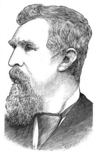 Sketch of Henry Smith, a Milwaukee politician who was an early advocate of home rule in the late 19th century.