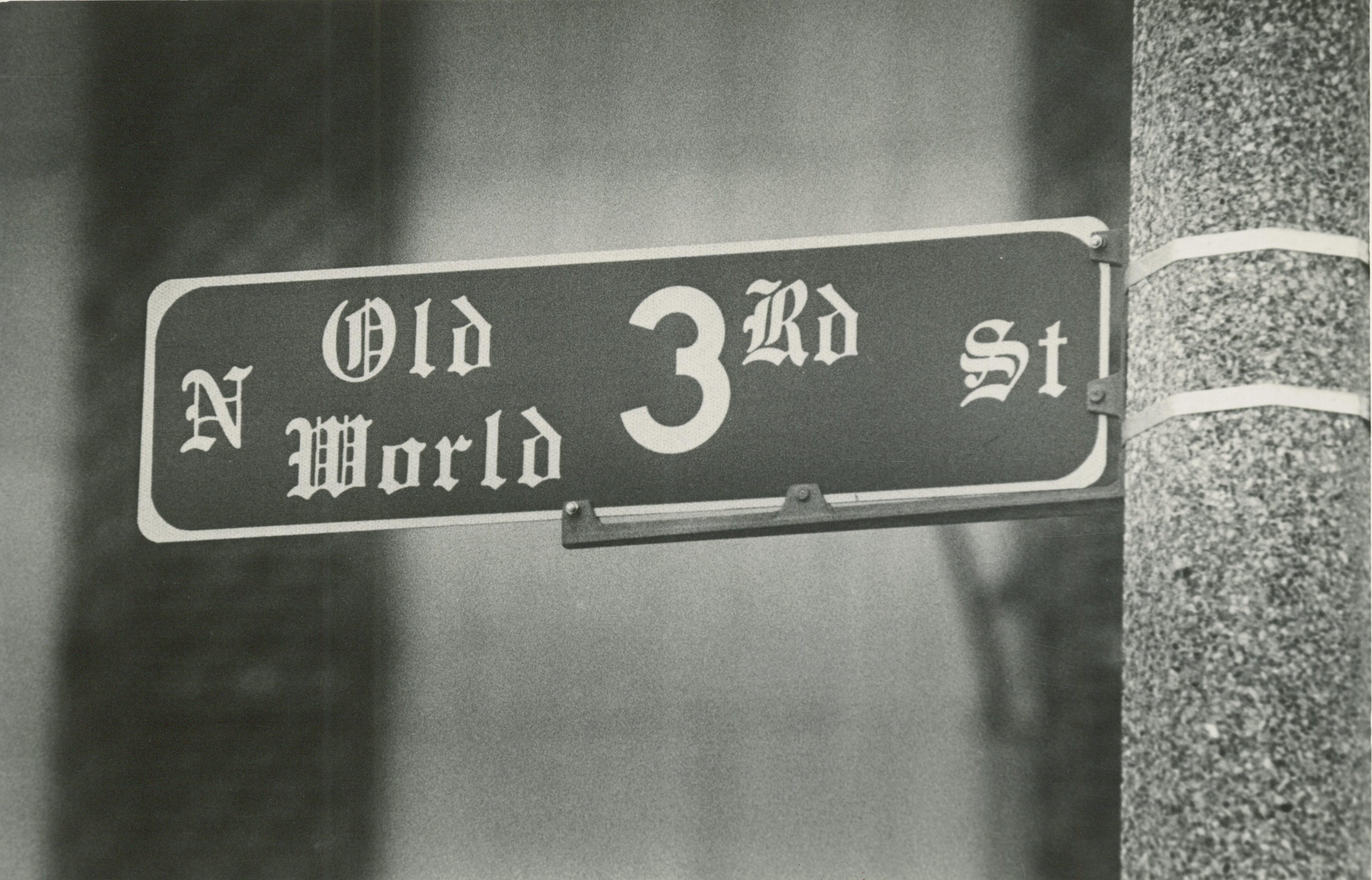 <table class=&quot;lightbox&quot;><tr><td colspan=2 class=&quot;lightbox-title&quot;>Old World Third Street</td></tr><tr><td colspan=2 class=&quot;lightbox-caption&quot;>In 1984, the City of Milwaukee renamed different sections of 3rd Street as Old World Third Street and Martin Luther King Drive, reversing a simplification of street name rationalization initiated earlier in the 20th century.</td></tr><tr><td colspan=2 class=&quot;lightbox-spacer&quot;></td></tr><tr class=&quot;lightbox-detail&quot;><td class=&quot;cell-title&quot;>Source: </td><td class=&quot;cell-value&quot;>From the Historic Photo Collection of the Milwaukee Public Library. Courtesy of the Milwaukee Journal Sentinel. Reprinted with permission.<br /><a href=&quot;http://content.mpl.org/cdm/singleitem/collection/HstoricPho/id/7163/rec/7&quot; target=&quot;_blank&quot;>Milwaukee Public Library</a></td></tr><tr class=&quot;filler-row&quot;><td colspan=2>&nbsp;</td></tr></table>