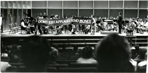 The Milwaukee Youth Symphony, one of the arts organizations supported by UPAF, helped with the fundraising in this photograph from Uihlein Hall.