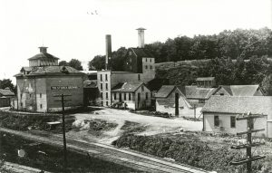 A view of the Storck Brewing Company prior to the Great Depression.