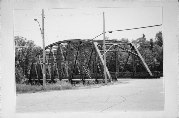 Built in 1929 to span the Milwaukee River, the steel truss bridge in Newburg was one of the last of its kind in Wisconsin when it was demolished in 2003.