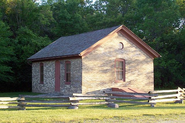 <table class=&quot;lightbox&quot;><tr><td colspan=2 class=&quot;lightbox-title&quot;>Montag-Boogk Home</td></tr><tr><td colspan=2 class=&quot;lightbox-caption&quot;>The Montag-Boogk Home, maintained by the Greenfield Historical Society, originally stood on the corner of present-day S. 60th Street and W. Cold Spring Road.</td></tr><tr><td colspan=2 class=&quot;lightbox-spacer&quot;></td></tr><tr class=&quot;lightbox-detail&quot;><td class=&quot;cell-title&quot;>Source: </td><td class=&quot;cell-value&quot;>From the Wikimedia Commons. Photograph by username Sulfur. CC BY-SA 3.0.<br /><a href=&quot;https://commons.wikimedia.org/wiki/File:Montag-Boogk_Cream_City_Brick_Home.jpg&quot; target=&quot;_blank&quot;>Wikimedia Commons</a></td></tr><tr class=&quot;filler-row&quot;><td colspan=2>&nbsp;</td></tr></table>