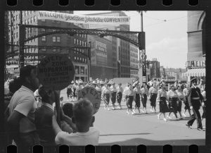 The National Association of Letter Carriers was founded in Milwaukee in 1889. In 1939, the NALC held a convention and parade in Milwaukee to celebrate their 50th anniversary.