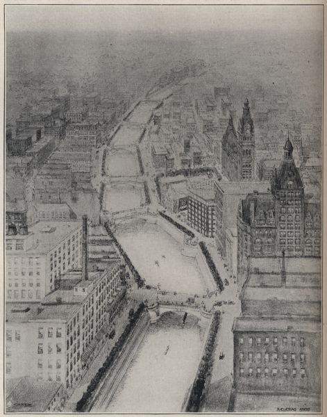 <table class=&quot;lightbox&quot;><tr><td colspan=2 class=&quot;lightbox-title&quot;>Original RiverWalk Design</td></tr><tr><td colspan=2 class=&quot;lightbox-caption&quot;>This 1904 sketch is Alfred Clas's initial design for Milwaukee's RiverWalk that did not see fruition until several decades later.</td></tr><tr><td colspan=2 class=&quot;lightbox-spacer&quot;></td></tr><tr class=&quot;lightbox-detail&quot;><td class=&quot;cell-title&quot;>Source: </td><td class=&quot;cell-value&quot;>From the Wisconsin Historical Society, WHS-135624. Reprinted with permission.<br /><a href=&quot;https://www.wisconsinhistory.org/Records/Image/IM135624&quot; target=&quot;_blank&quot;>Wisconsin Historical Society</a></td></tr><tr class=&quot;filler-row&quot;><td colspan=2>&nbsp;</td></tr></table>