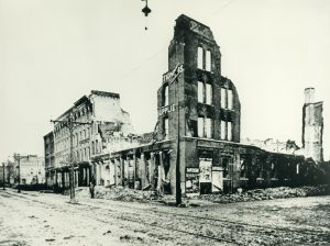 The fire in the Third Ward in 1892 demolished more than 440 buildings and displaced 2,500 people from the neighborhood.