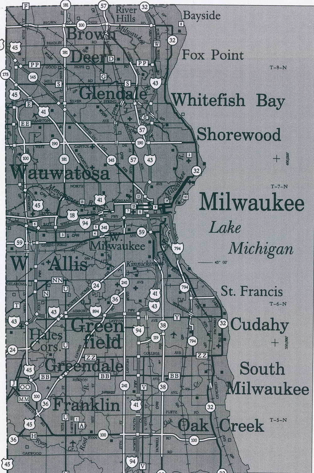 <table class=&quot;lightbox&quot;><tr><td colspan=2 class=&quot;lightbox-title&quot;>Milwaukee's Iron Ring</td></tr><tr><td colspan=2 class=&quot;lightbox-caption&quot;>This map of Milwaukee County from 2006 illustrates the many towns and villages that compose the Iron Ring around the city of Milwaukee that developed as a result of the Oak Creek Law. </td></tr><tr><td colspan=2 class=&quot;lightbox-spacer&quot;></td></tr><tr class=&quot;lightbox-detail&quot;><td class=&quot;cell-title&quot;>Source: </td><td class=&quot;cell-value&quot;>From the American Geographical Society Library Digital Map Collection. University of Wisconsin-Milwaukee Libraries.<br /><a href=&quot;https://collections.lib.uwm.edu/digital/collection/agdm/id/13035/rec/280&quot; target=&quot;_blank&quot;>University of Wisconsin-Milwaukee Libraries</a></td></tr><tr class=&quot;filler-row&quot;><td colspan=2>&nbsp;</td></tr></table>