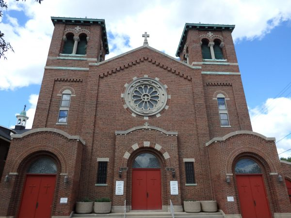 St. Florian Parish formed in West Milwaukee in 1911 and its current building was dedicated in 1939. Though the church lost a significant number of parishioners whose homes were razed for a freeway that was never built, the parish continues to serve the community today.