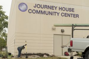 The Journey House Community Center provides a number of services to the present Clarke Square neighborhood, including youth development and adult education programs.