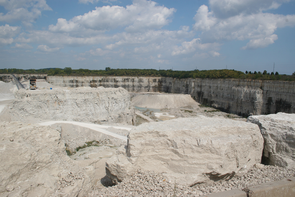 <table class=&quot;lightbox&quot;><tr><td colspan=2 class=&quot;lightbox-title&quot;>Halquist Stone Quarry</td></tr><tr><td colspan=2 class=&quot;lightbox-caption&quot;>The Halquist Stone Company was first founded in 1929 and continues to be a vital part of Sussex's local economy today. </td></tr><tr><td colspan=2 class=&quot;lightbox-spacer&quot;></td></tr><tr class=&quot;lightbox-detail&quot;><td class=&quot;cell-title&quot;>Source: </td><td class=&quot;cell-value&quot;>From Flickr. Photograph by Chris Totsky. CC BY-NC-SA 2.0.<br /><a href=&quot;https://www.flickr.com/photos/taterville/4115007461/&quot; target=&quot;_blank&quot;>Flickr</a></td></tr><tr class=&quot;filler-row&quot;><td colspan=2>&nbsp;</td></tr></table>