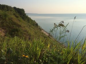 The Lion's Den Gorge Nature Preserve along Lake Michigan provides Ozaukee County residents with acres of natural space for hiking and other outdoor activities.