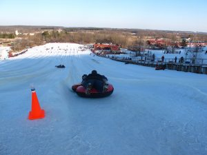 The Sunburst Ski Area is a popular winter recreation area in Kewaskum that offers both ski slopes and a tubing hill.