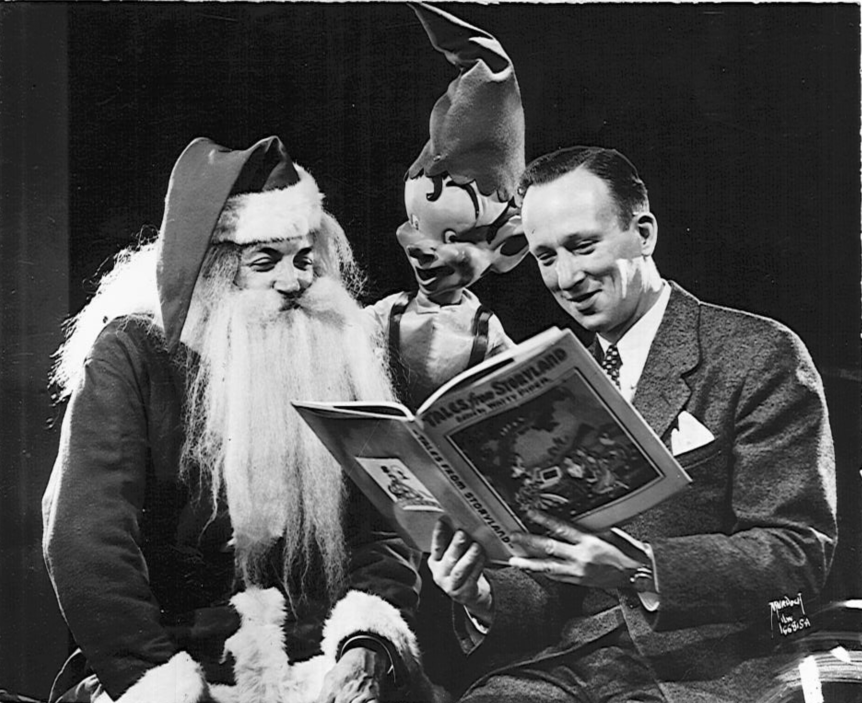 "Starting in 1931, Billie the Brownie had a daily radio show. Along with Santa and ""Captain"" Larry Teich, the show's writer and producer, Billie the Brownie read stories and Milwaukee children's Christmas letters."