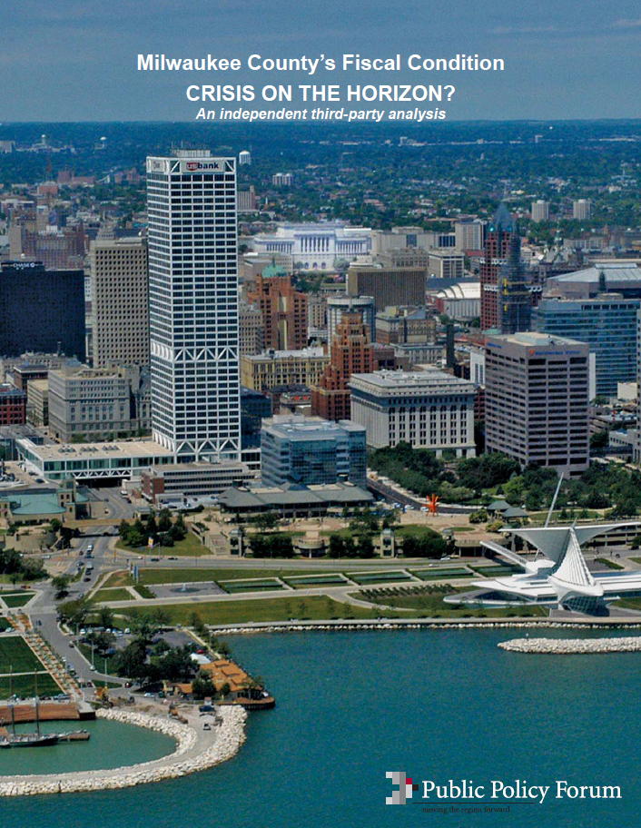 A watchful presence in Milwaukee for over 100 years, the Public Policy Forum provides independent analysis on a variety of public policy issues.
