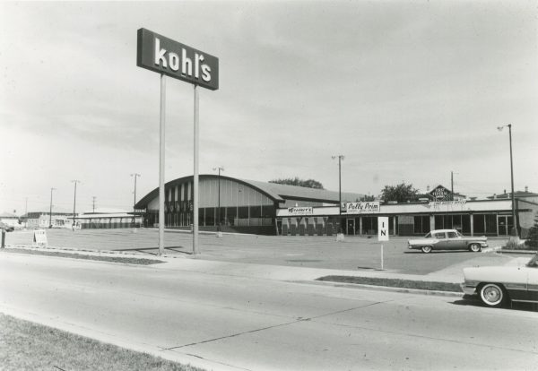 Prior to transition to a department store, Kohl's grocery stores, like this one on 64th and Silver Spring, were located throughout Milwaukee.
