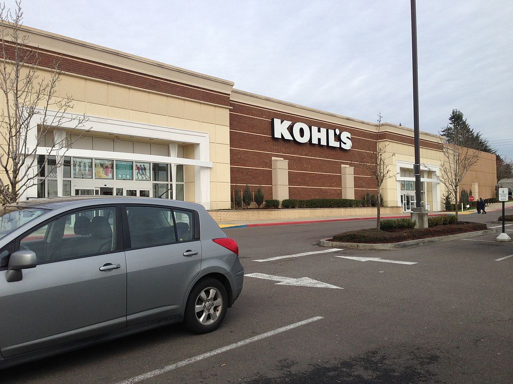 <table class=&quot;lightbox&quot;><tr><td colspan=2 class=&quot;lightbox-title&quot;>Kohl's Department Stores</td></tr><tr><td colspan=2 class=&quot;lightbox-caption&quot;>Now a nationally recognized department store chain, Kohl's stores remain a popular shopping venue for middle class American families.</td></tr><tr><td colspan=2 class=&quot;lightbox-spacer&quot;></td></tr><tr class=&quot;lightbox-detail&quot;><td class=&quot;cell-title&quot;>Source: </td><td class=&quot;cell-value&quot;>From the Wikimedia Commons. Photograph by username MB298. CC BY-SA 4.0.<br /><a href=&quot;https://commons.wikimedia.org/wiki/File:Kohl%27s_%E2%80%93_Beaverton,_Oregon.jpg&quot; target=&quot;_blank&quot;>Wikimedia Commons</a></td></tr><tr class=&quot;filler-row&quot;><td colspan=2>&nbsp;</td></tr></table>