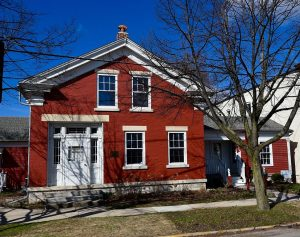 The oldest brick house in Waukesha County, the Sewall Andrews House in Mukwonago is listed on the National Register of Historic Places and now houses a local museum.
