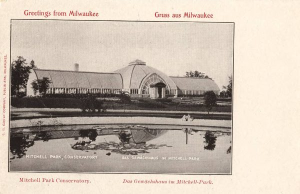 Architect Henry C. Koch drew inspiration for the 1898 Mitchell Park Conservatory design from the Crystal Palace in London. It was replaced by the iconic Domes in 1965.